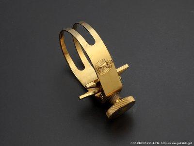画像2: CG Mouthpiece GALILEO テナーサックス用リガチャー 【Brass-GP】 【VI】