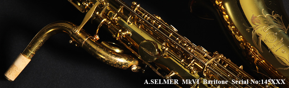 A.SELMER Mk VI Baritone Sax 145XXX