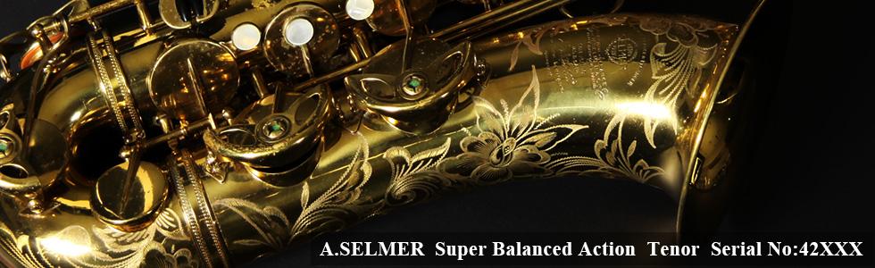 A.SELMER Super Balanced Action Tenor Sax 42XXX