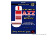 JAMEY AEBERSOLD VOLUME.1 HOW TO PLAY JAZZ & IMPROVISE 【ジェイミー教材】 【英語版】