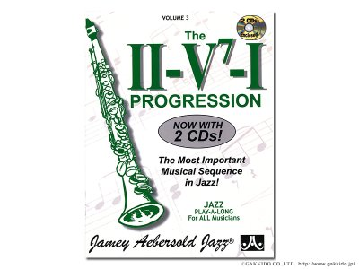 画像1: JAMEY AEBERSOLD VOLUME.3 THE II-V7-I PROGRESSION 【ジェイミー教材】 【英語版】