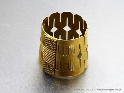 画像2: BORGANI FLEXITONE テナーサックス用リガチャー 【Brass】