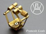 Francois Louis PURE BRASS 【L】 【ブラス】 テナーサックス用リガチャー 対応:ラバーマウスピース