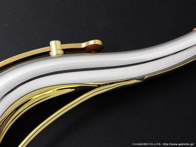 画像2: Yanagisawa テナーサックス用ネック TW3 銀製 ラッカー仕上げ 【スタンダードスタイル】