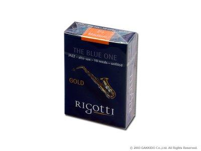 画像1: Rigotti GOLD JAZZ アルトサックス用リード アンファイルドカット