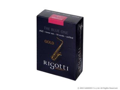 画像1: Rigotti GOLD JAZZ テナーサックス用リード アンファイルドカット