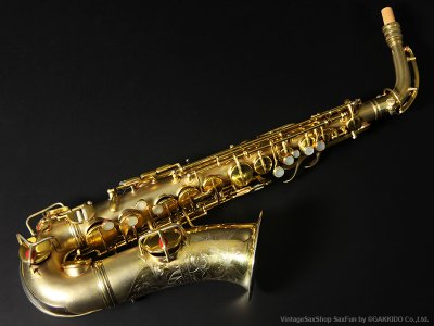 画像1: Conn New Wonder Series-II Alto Sax Gold Plated 1927年製 Serial No:176XXX 【Vintage】