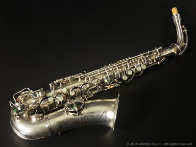 画像1: Conn New Wonder Series-II Alto Sax Satin Silver Plated Serial No:185XXX 【Vintage】