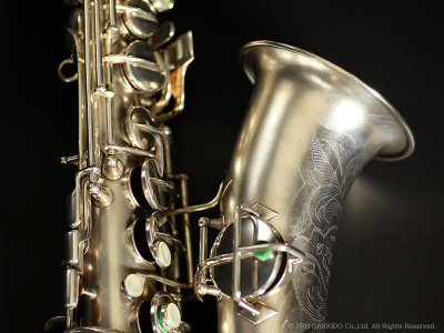 画像2: Conn New Wonder Series-II Alto Sax Satin Silver Plated Serial No:185XXX 【Vintage】