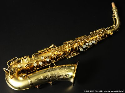 画像1: Conn New Wonder Transitional Alto Sax Gold Plated 1932年製 Serial No:248XXX 【Vintage】