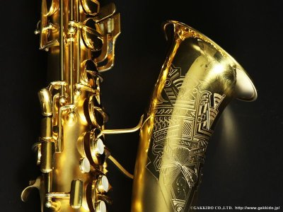 画像2: Conn New Wonder Transitional Alto Sax Gold Plated 1932年製 Serial No:248XXX 【Vintage】