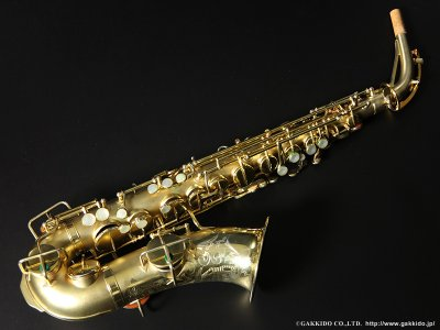画像1: Martin Master Typewriter Alto Sax Gold Plated Serial No:97XXX 【Vintage】
