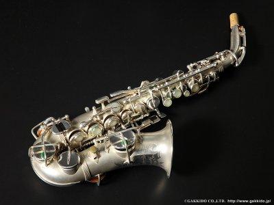 画像1: Wurlitzer by Martin Stencil Curved Soprano Sax Serial No:162XXX 【Vintage】
