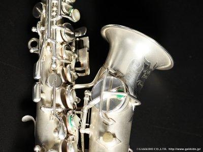 画像2: Wurlitzer by Martin Stencil Curved Soprano Sax Serial No:162XXX 【Vintage】