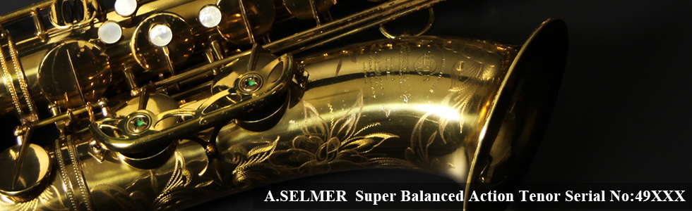 A.SELMER Super Balanced Action Tenor Sax 49XXX