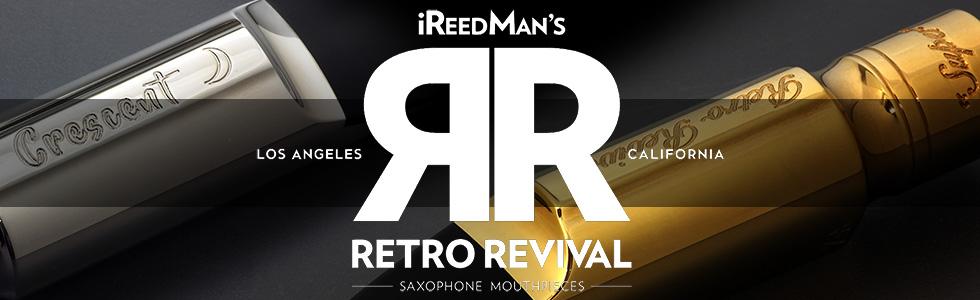 Retro Revival saxophone mouthpiece